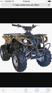 I want to buy baja or gio atv
