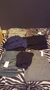 Bundle of Size Large clothes NWT