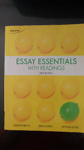 ESSAY ESSENTIALS WITH READINGS - Conestoga College 6th edition