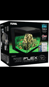Brand New - Fluval Flex 15 gal. Aquarium
