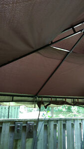 "JYSK ""TANGRI"" GAZEBO SIDE CURTAINS ONLY"