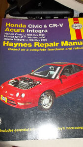 Haynes manual for Honda