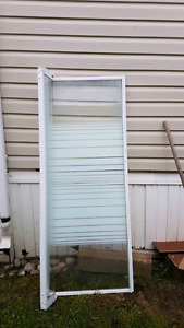 Shower and glass door