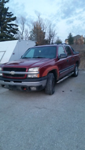 Chevy avalanche for sale as is!
