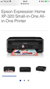 Epson XP 320 All In One Printer