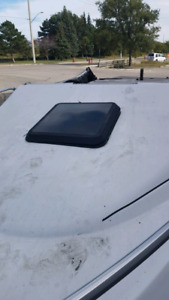 Mint condition Bayliner cubby window and front windows and sides