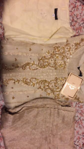 Agha Noor kurti brand new large size 4 piece