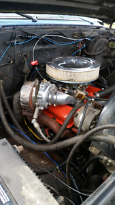 Complete drop in turbocharged sbc 350