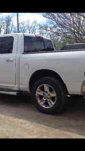 Ram stock rims and tires