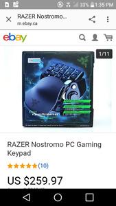 Razer Nostromo Gaming Keypad