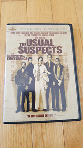 selling a copy of the usual suspects on dvd