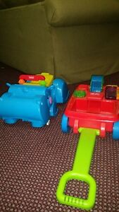 Fisher Price Gobble and Go Hippo & 2-1 Activity Wagon