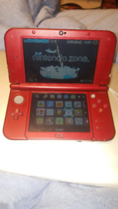 Used red New 3DS XL