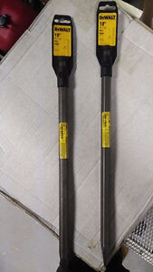 """Dewalt Hammer Drill Bit - 18"""" Bull Point - NEW"""