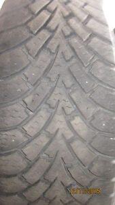 235/65R17 GOODYEAR WINTER NORDIC TIRES ON 5x114.3 WINTER PKG.!