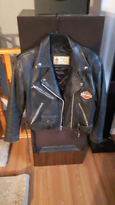 2 leather jackets for sale