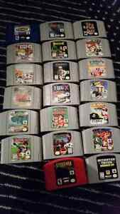 N64 Games for Sale Cambridge Kitchener Area image 1