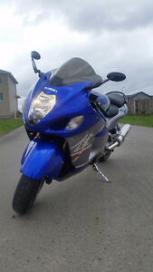 Mint running Hayabusa with extras