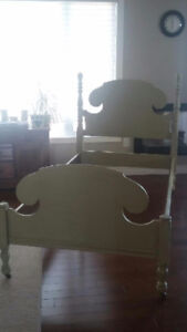 InAntique bed