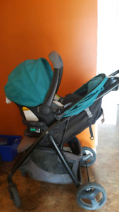 Evenflo Stroller & Carseat with Base