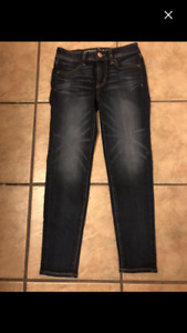 American Eagle jeans-size 00/0-worn once