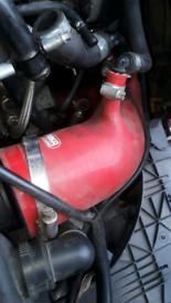 Audi A4 turbo intake pipe