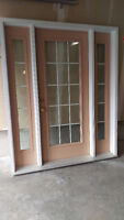 Steel Exterior Door with sidelights