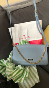 Authentic Kate spade purse light blue