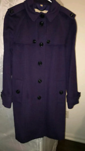 Burberry cashmere wool coat