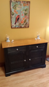 Beautifully designed hand crafted wooden cabinet.