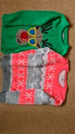Kids Christmas jumpers