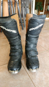 Oneal dirt bike boots