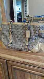 Authentic medium Coach purse