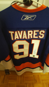 John Tavares Signed Jersey Official Licensed Jersey  obo