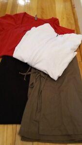 Petit lot d'été, Vêtement de maternité de grandeur Large