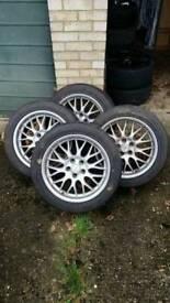 5x114.3 R17 alloy wheels Nissan mitsubishi hyundai kia mazda lexus honda