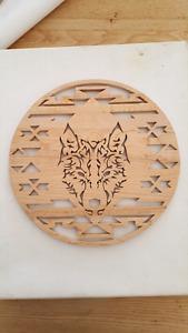 Scroll Saw - loup en bois