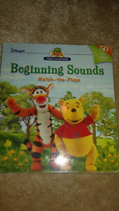 Winnie the Pooh beginning sounds hardcover with flaps like new