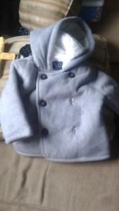 Baby boy fleece coat new