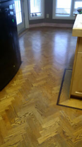 Oak Herringbone Hardwood