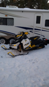 2011 MXZ X 600 Etec, 03 MXZ 800 and 03 Rainbow Trailer