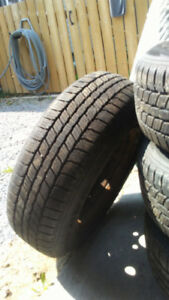 205/70R15 Winter Tires/Rims (Minerva Ice Plus)
