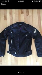 Manteau de moto sport Shift Noir FEMME MEDIUM Sport bike jacket