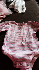 Girls clothes ranging from 6 months to 12 months