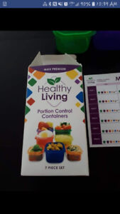 Brand New - Healthy Living Containers