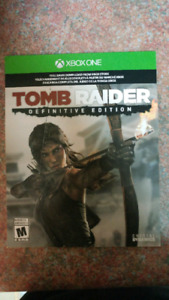 Xbox 1 tomb raider definative edition