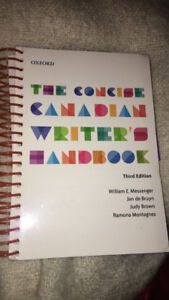 The Concise Canadian Writer's Handbook - William E. Messenger