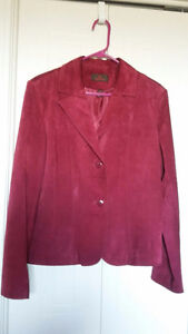 Fushia swede jacket  - DANIER