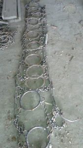 Chaîne pour pneu de tracteur