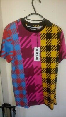 House of Holland Multicoloured T-Shirt Size Small NEW with tags